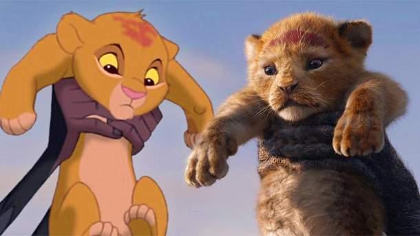 """Наскільки рімейк до """"Король Лев"""" схожий з легендарним мультфільмом"""