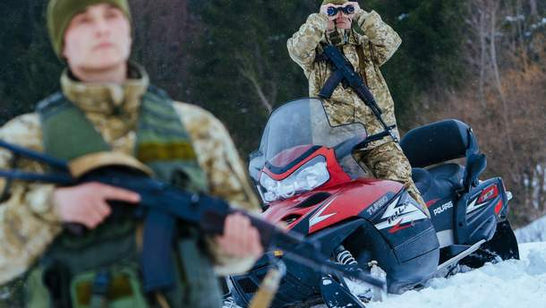 Украина усилила охрану границы с Румынией