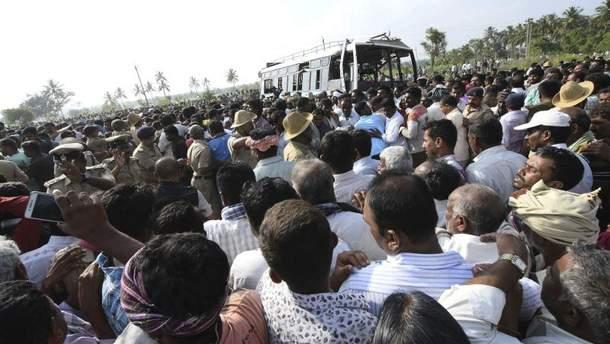 Жахливе ДТП в Індії