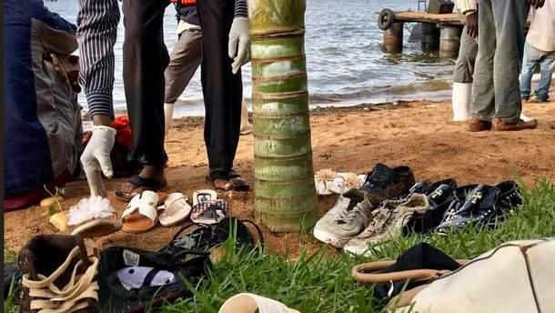 На озері Вікторія затонула яхта