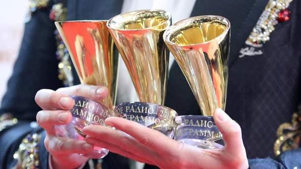 Украинские певцы получили награды в Москве