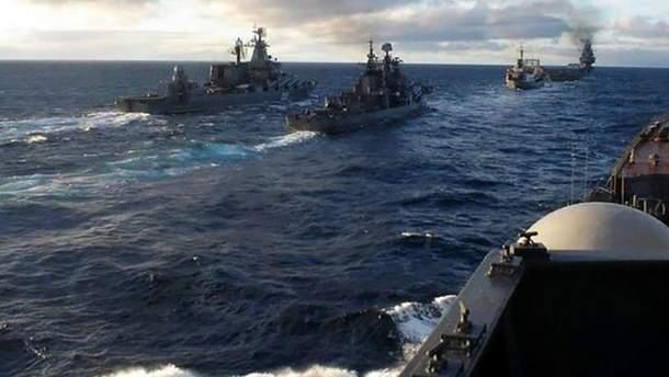 Российские корабли атаковали украинские военные судна в Азовском море, но пострадали сами