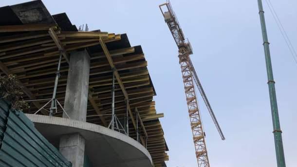 Скандальне будівництво на Андріївському узвозі у Києві