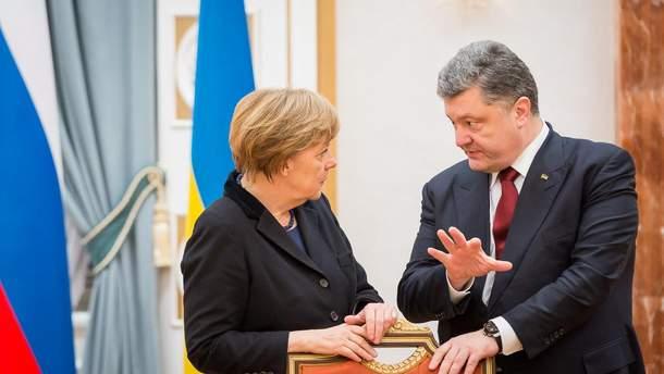 Меркель обещает делать все для деэскалации ситуации в Азовском море