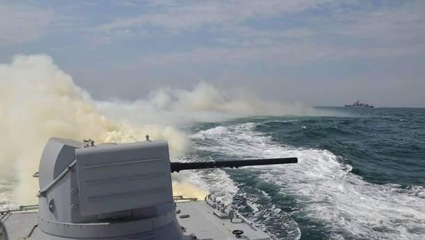Реакция западных СМИ на конфликт в Азовском море