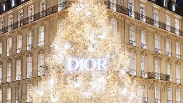 Новогодняя елка от Dior