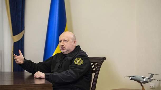 Секретарь СНБО Александр Турчинов рассказал, чего ожидать украинцам  во время военного положения