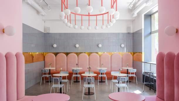 Інтер'єр кафе-пекарні Breadway в Одесі