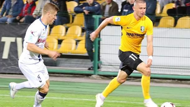 Андрей Цуриков (справа)