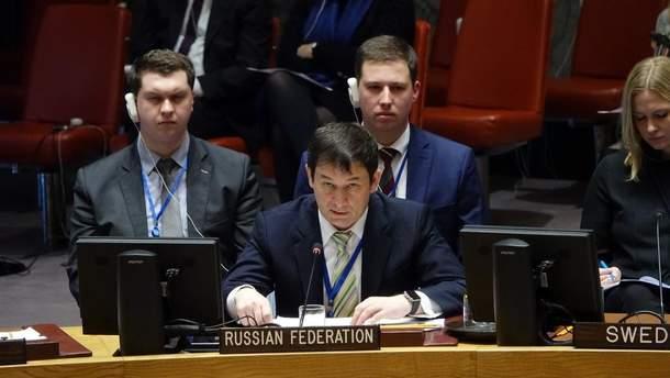 Представник Росії в ООН Полянський зробив зухвалу заяву щодо окупації Криму та війни на Донбасі