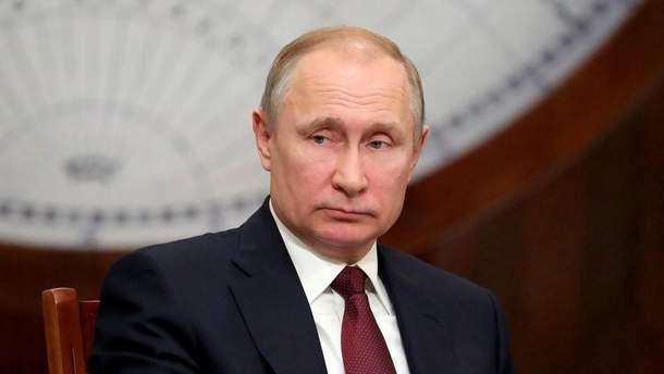 Путин прокомментировал введение военного положения в Украине 2018