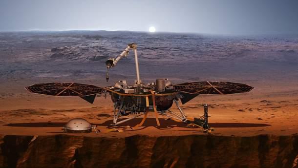 Зонд InSight надіслав перші фото з Марсу