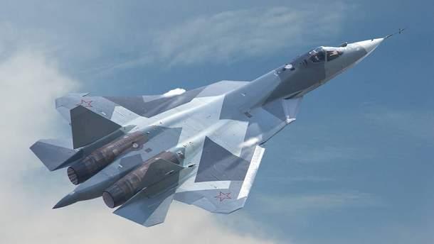 Российских истребителей Су-57