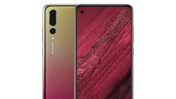 Вероятный дизайн Huawei nova 4