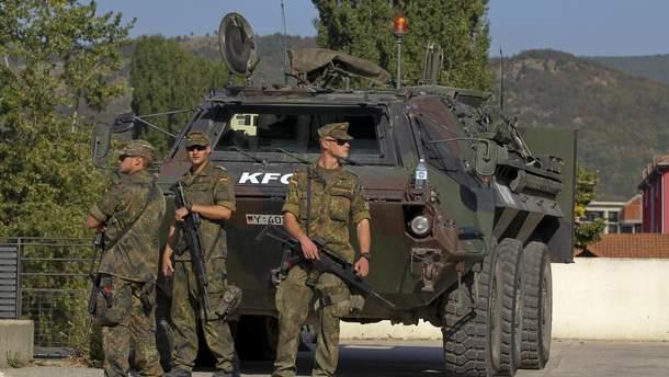 Силы KFOR проведут учения на севере Косово