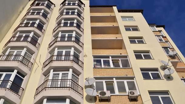 Ввод жилья в эксплуатацию в Украине сократился