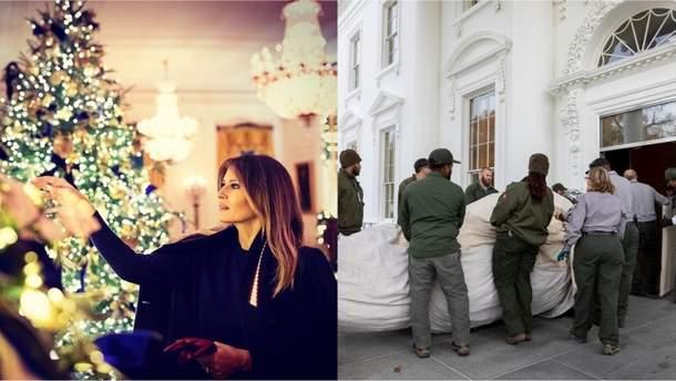 Як прикрасили Білий дім до свят