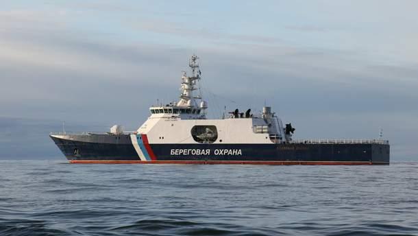 Захватом украинских кораблей в Азове руководил начальник береговой охраны России, – СМИ