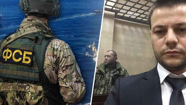 Українські моряки, захоплені РФ,  не визнають своєї провини