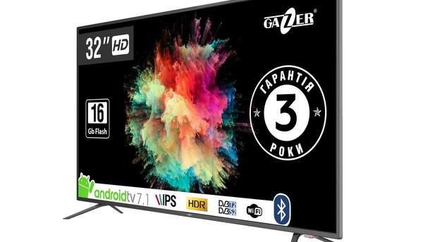 В Україні доступні дві моделі Gazer TV