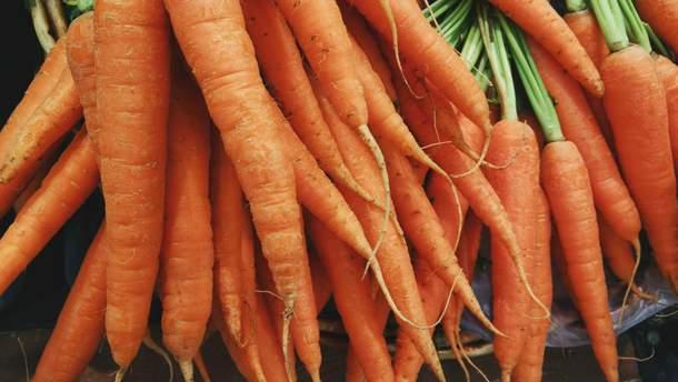 Морква допомагає боротися зі стресом