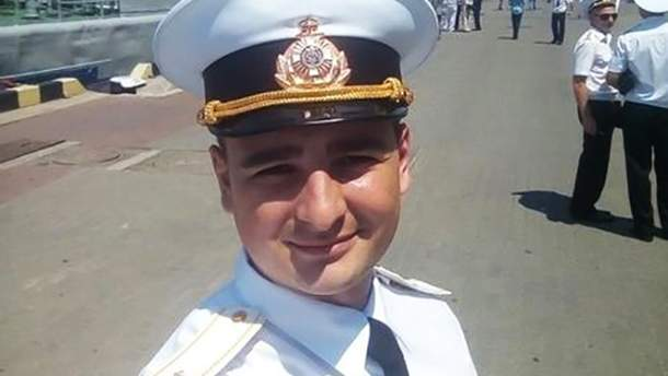 Василий Сорока, которого взяли в плен российские военные в Керченском проливе