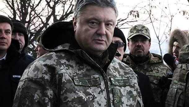 Порошенко розповів, чому вирішив ввести воєнний стан в Україні