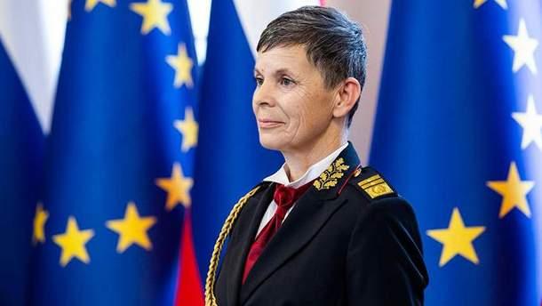 Аленка Ерменц очолила армію країни НАТО