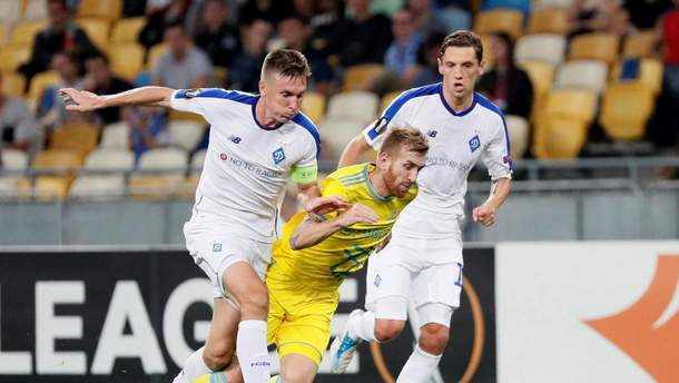 Астана – Динамо результат и обзор матча