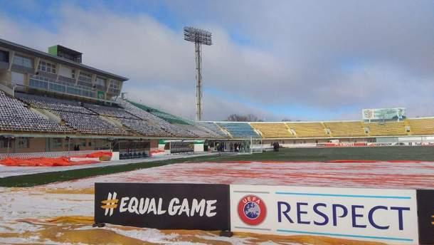 """Стадіон """"Ворскли"""" готовий до матчу"""