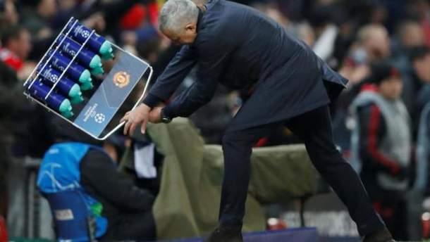 Жозе Моуринью взбесился после забитого гола