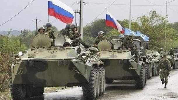 Кількість російських військ на кордоні з Україною