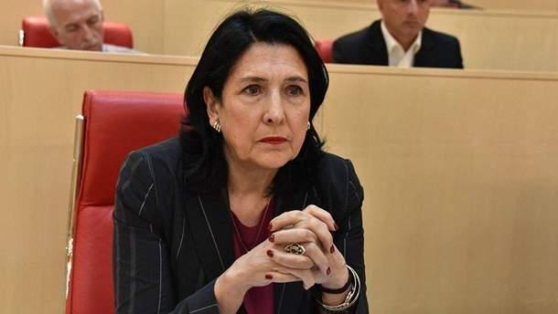 Саломе Зурабішвілі перемогла на виборах президента Грузії