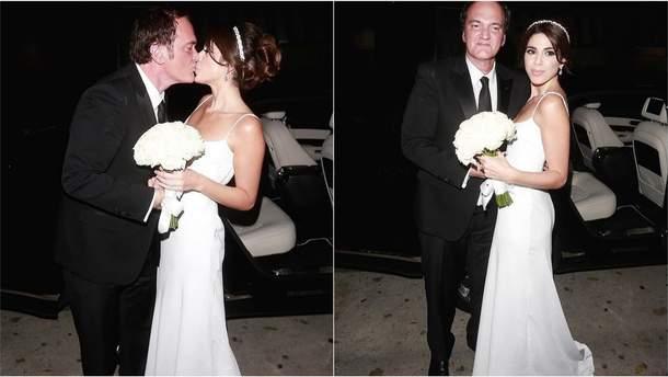 """Результат пошуку зображень за запитом """"55-річний Тарантіно вперше одружився"""""""