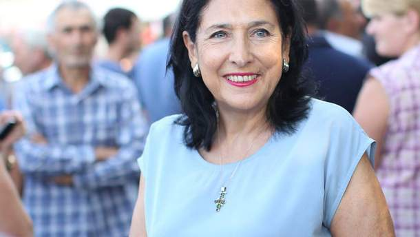 Саломе Зурабішвілі стала президентом Грузії