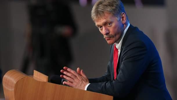 Дмитро Пєсков заявив, що Керченська протока працює без обмежень для українських суден
