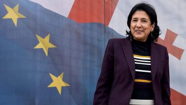 В Грузии избрали нового президента Саломе Зурабишвили