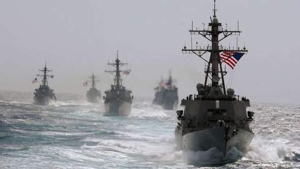 НАТО не направит дополнительные военные корабли в Азовское море