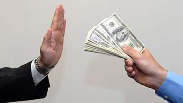 У Києві прокурор відмовився від хабаря у розмірі 30 тисяч доларів