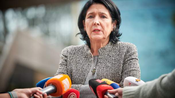 Новий президент Грузії зробила заяву про взаємини з Росією