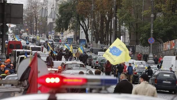У ДФС озвучили втрати бюджету через протести водіїв авто на єврономерах