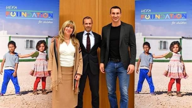 Кличко увійшов до складу опікунської ради Дитячого фонду УЄФА