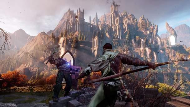 Скріншот з гри Dragon Age