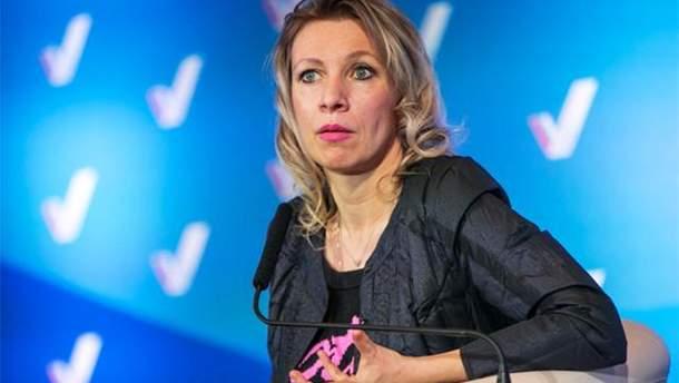 Захарова заявила, что Россия не будет запрещать въезд украинцам на свою территорию