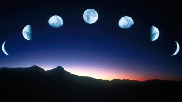 Фази місяця грудень 2018 - місячний календар на грудень 2018