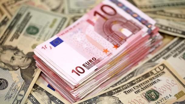 Готівковий курс валют на 30 листопада 2018 - Україна