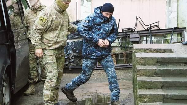 Частину українських моряків доставили в СІЗО Москви, а частину – в лікарню