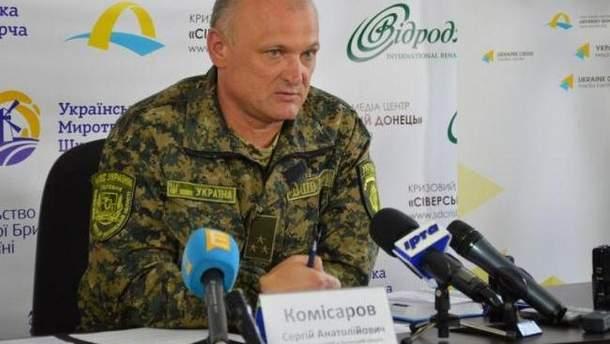 Главный полицейский Запорожской области Сергей Комиссаров