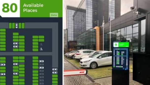 В SoftServe тестируют разумную систему парковки