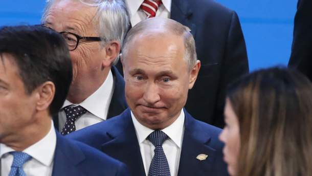 Трамп і Путін не потисли руки